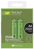 Nabíjecí baterie GP RECYKO AA 2500mAh 2ks
