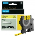 DYMO páska D1 RHINO 12mm x 5,5m černo/žlutá