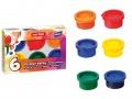Prstové barvy 12ml 6 barev