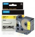 DYMO páska D1 RHINO 19mm x 5,5m černo/žlutá