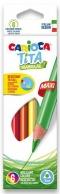 Pastelky Carioca Tita Triangular Maxi 6 ks