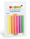 Plastelína Primo FLUO, 6 x 17g