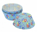 Cukrářské košíčky 50x30mm balónky 40ks