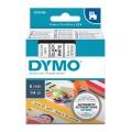 DYMO páska D1 43613 6mm x 7m černo/bílá