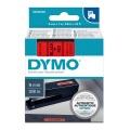 DYMO páska D1 40917 9mm x 7m černo/červená