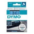 DYMO páska D1 40916 9mm x 7m černo/modrá