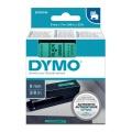 DYMO páska D1 40919 9mm x 7m černo/zelená