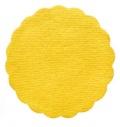 Rozeta do podšálku 9cm žlutá 500ks