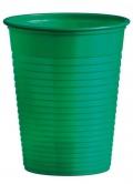 Kelímek 180ml zelený 10ks