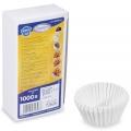 Cukrářské košíčky 26x16mm bílé 1000ks