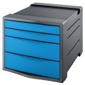 Zásuvkový box Esselte Vivida modrý