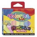 Modelovací hmota Colorino svítící ve tmě 6 barev