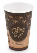 Kelímek 330ml na kávu papírový 50ks