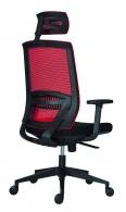 Kancelářská židle ABOVE červená