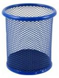 Stojánek kovový drátěný tmavě modrý