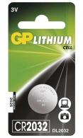 Knoflíková baterie GP Lithium CR2032