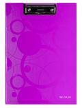 Dvojdeska Neo Colori s klipem A4 růžová