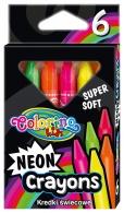 Voskovky Colorino Neon 6 barev