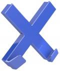 Magnet Dahle Mega Cross - kříž