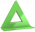 Magnet Dahle Mega Delta - trojúhelník