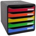 Zásuvkový box Exacompta Black