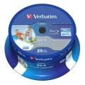 BD-R Verbatim 25GB/6x 25-pack Hard Coat SL Printable