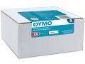 DYMO páska D1 12mm x 7m černo/bílá 10ks