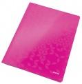 Desky s rychlovazačem Leitz WOW růžové