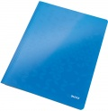 Desky s rychlovazačem Leitz WOW modré