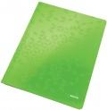 Desky s rychlovazačem Leitz WOW zelené