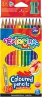 Pastelky Colorino Pastel oboustranné 12ks