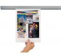 Plakátová lišta Jalema GRIP 600 mm