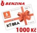BONUS Grand karta BENZINA 1000Kč