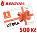 BONUS Grand karta BENZINA 500Kč