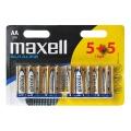 Baterie MAXELL alkalická AA 10ks