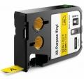 DYMO XTL páska 1868771 12mm 7m černo/žlutá