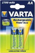 Nabíjecí baterie VARTA AA 2600mAh 2ks