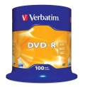 DVD-R Verbatim 4,7GB/16x 100-pack