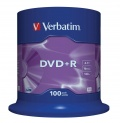 DVD+R Verbatim 4,7GB/16x 100-pack