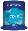 CD-R Verbatim 700MB/52x 100-pack ExtraProtection